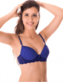 Bra without Bulge Microfiber and Laced