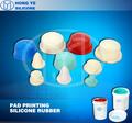 Líquido Tampografía silicona Material de goma -
