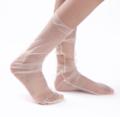 Wholesale Stock Fashion Women Hot Glitter Stars Sheer socks Tulle Socks