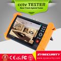 7 polegadas Touch Screen cctv Tester, 5in1 (IP AHD CVI TVI câmera analógica) Tester CCTV -