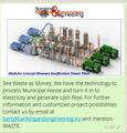 De residuos a energía -