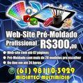 Professional website creation -