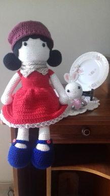 Crochê todo dia - Boneca Sophia de crochê em amigurumi | Facebook | 385x217