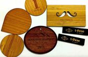 Customizable Mifare Classic Chip Wood Cards