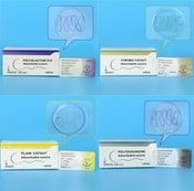Medical High Quality PDO Monofilament Chemosynthetic Suture / Vicryl Suture,Medical Absorbable Sutures / Surgical Chromic Catgut Absorbable Suture / Surgical Disposable Plain Catgut Suture
