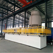 Waste rubber pyrolysis equipment, 30T