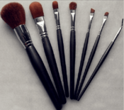 Beauty Assistant Makeup Brush Kits/beginner portable/7-piece kit brush