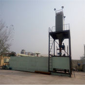 Waste rubber pyrolysis equipment, 50T