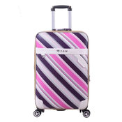 PU leather trolley case -018
