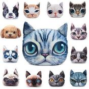 3D print cat or dog fun cushions\ decorative pillows