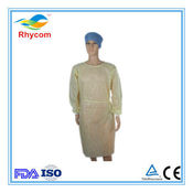 Disposable non-woven: isolation gown/patient gown/scrub suit/visit gown / Customized  suit/patient gown / Non-woven scrub suit/ surgical gown /  lab suits/ lab coat/coverall