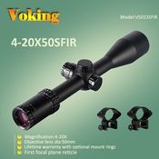 Voking 4-20X50 SFIR magnifier scope with your own APP