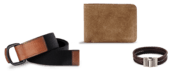 Leather Wallets and Belts