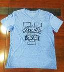 Cotton fashionable printing T-shirt...