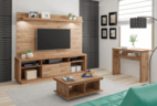 Entertainment center for TV with sh...