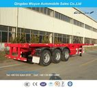 3 Axle Container Chassis or Container Skeletal Truck Semi Trailer - Qingdao Wuyue Automobile Sales Co., Ltd.