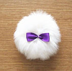 Beauty Assistant long plush puff, with golden powder - CKC Manufactering (AH) Co,.Ltd