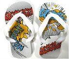 Synthetic Rubber Slipper - Sandals Cariris - Inbop