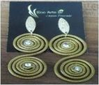 Earring In Golden Grass Raw Materia...