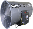 Hot Air Generator Gas Powered - Tec 12 A Epx - Ecogás