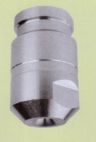 Dry hollow cone nozzle