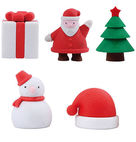 christmas shape office&school supplies eraser Model EA-086 - Anhui Tuqiang Stationery Co., Ltd.