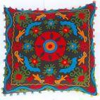 Suzani Embroidered cushion covers - HANDICRAFTOFPINKCITY