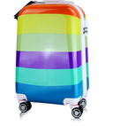 Korean style suitcase, colorful sui...