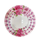 melamine Round dinner plate set of ...