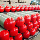 Hoop-wrapped CNG cylinder with steel liner for vehicles 406-120L - Hengyang Jinhua High Pressure Container Co.,Ltd