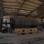 Waste rubber pyrolysis equipment, 16-20T - Henan Beigong Machinery Manufacturing Co., Ltd.