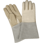 Tig Welding Safety Gloves, Made of fine quality split leather - New Point Impex