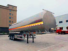Three-axle liquid tank transport semitrailer - Chuzhou Tianda Auto Parts Co., Ltd.