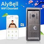 AlyBell Motion Detection Wireless IR Night Vision Video Smart WiFi Doorbell - Shenzhen Alytimes Technology Co Ltd