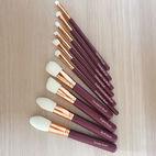 Conjunto de escovas de maquiagem