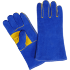 Welding Gloves, Made of Split Leather, Inside Lining, Welted - New Point Impex