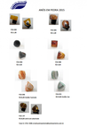 Stone rings - Pedras Oriente