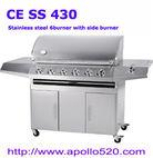 6-burner SS BBQ Barbacoa de Gas