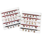 WHIMSICAL HOLIDAY CHARM BRACELET DISPLAY 10CT - Whimsical Gifts