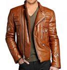 Mens stylish Fashion leather jacket - Craftive Apparels