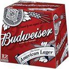Budweiser Beer Bottles 12 x 355ml - Ak foods distribution ltd