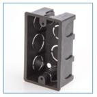 Plastic Outlet Box 4x2 - IVPLAST