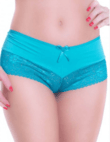 Panty Calesson in Microfiber with Lace - TJ Vip