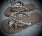 Chinelo Decorated with Pearls - Chic Chinelos Decorados