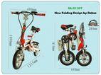 Electric Bicycle Folding Lithium Fold Bike RK-B130 - Rakxe