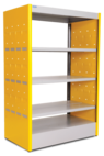 Fenix Kids Double Faced Bookcase - 3FEK206 - METALPOX