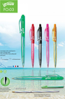 Ballpoint Pen Plastic Ballpoint Pen: FlexOffice Venus FO-03 - Thien Long Group Corporation