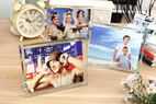 Heat Press Glass Photo Frame for Sublimation photo frame glass printing photo frame - Sunmeta Digital Graphic Co., Ltd.