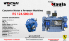 Marine engines and reversers