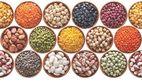 Legumes, beans, peas, chickpeas